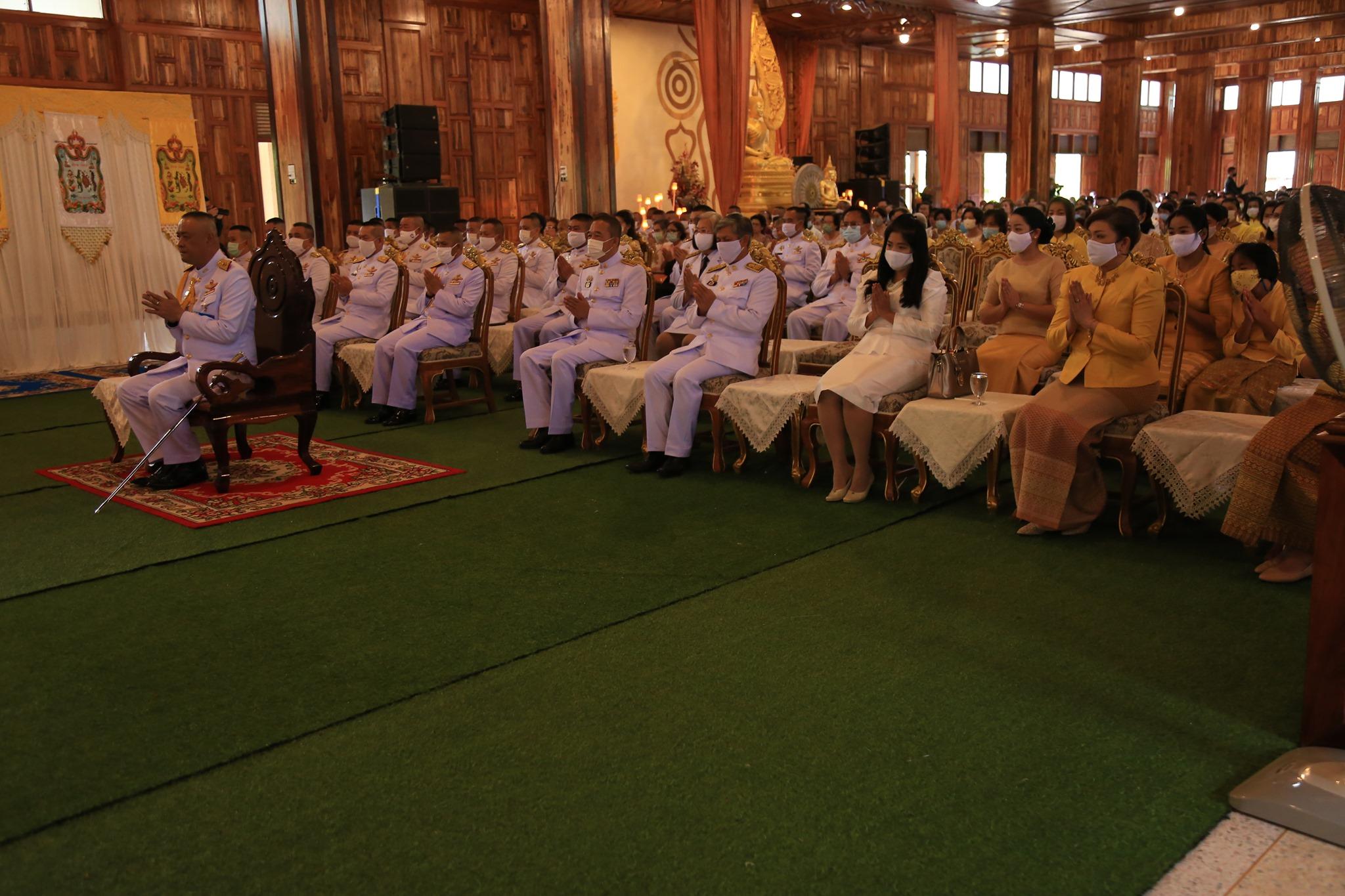 พิธีถวายผ้าพระกฐินพระราชทาน ประจำปีพุทธศักราช 2563